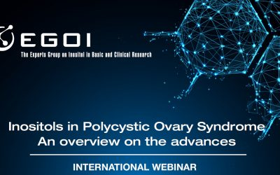 Webinar – Inositols in Polycystic Ovary Syndrome. An overview of the advances